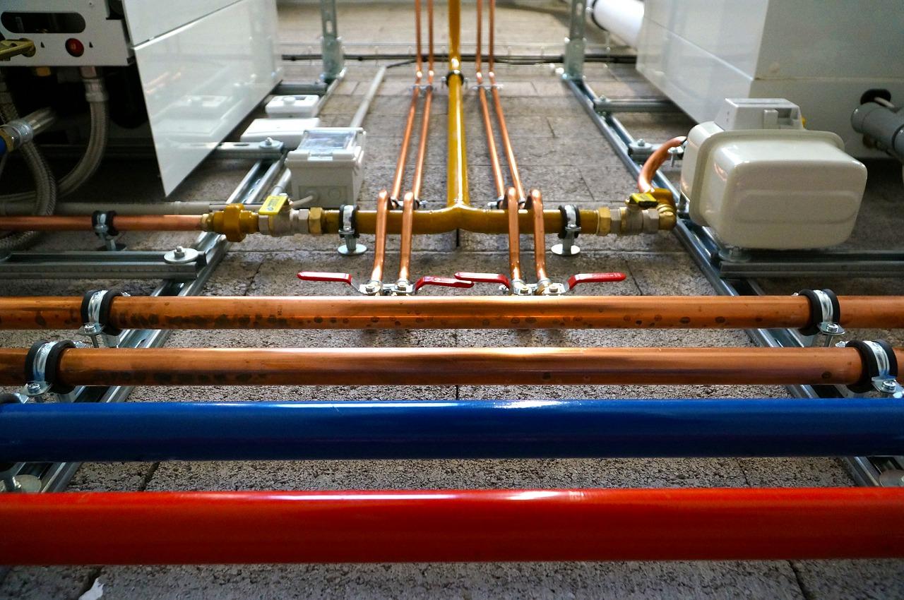 réparer tuyaux cuivre