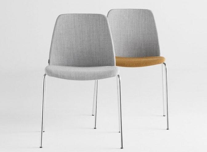 chaise tissu
